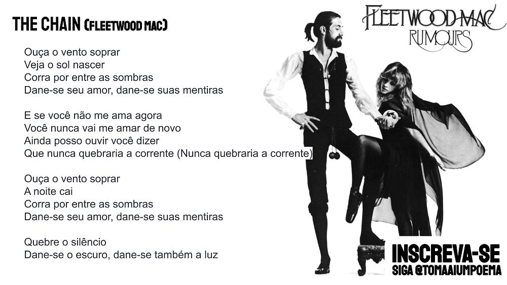 the chain letra traducao fleetwood mac