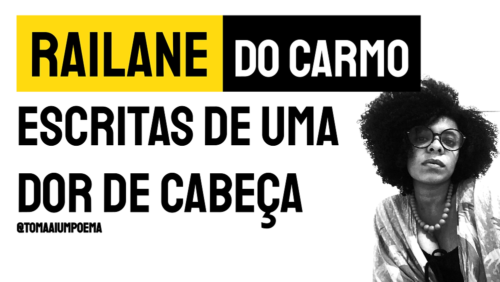 Poesia negra railane do carmo