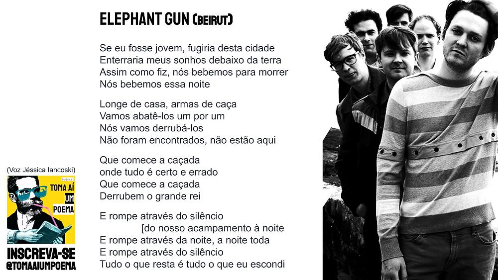 beirut elephant gun letra