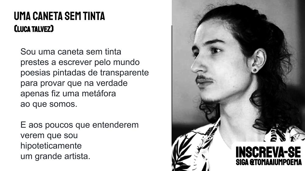 nova poesia brasileira luca talvez