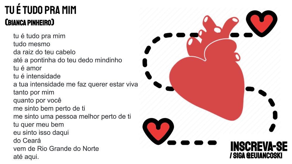 Poesia brasileira bianca pinheiro