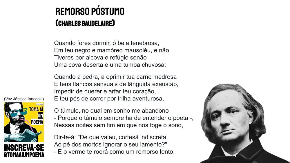 Remorso Póstumo Charles Baudelaire