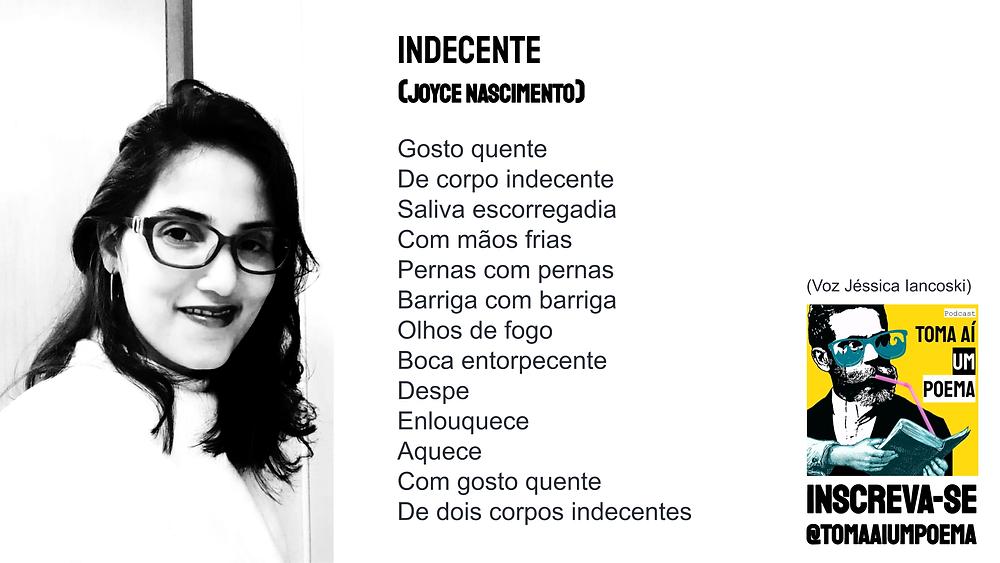 Joyce Nascimento indecente nova poesia brasileira