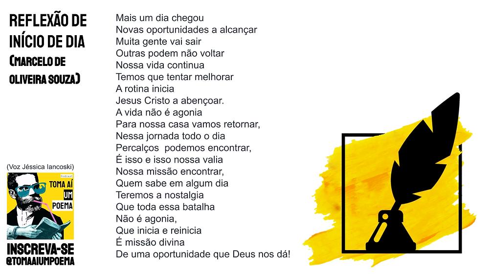 Poema de Marcelo oliveira souza