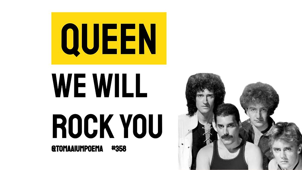 musica queen we will rock you
