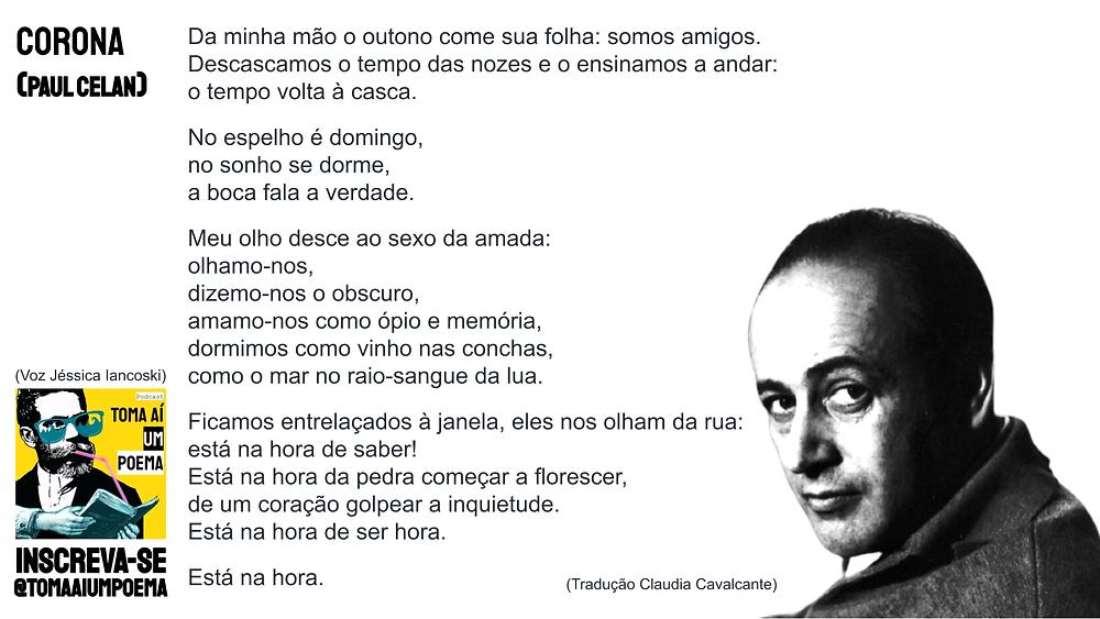 Poema de Paul Celan Corona