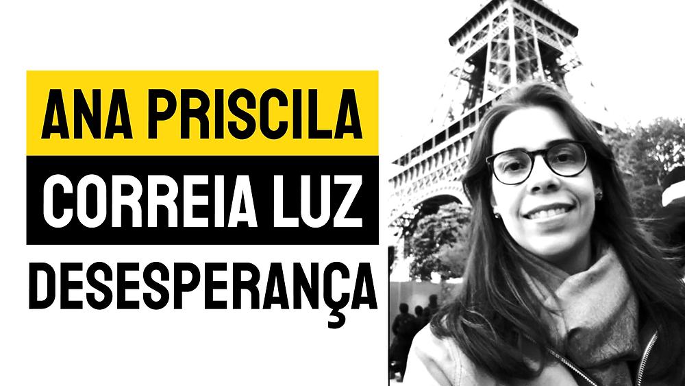 Ana Priscila Desesperança poesia brasileira