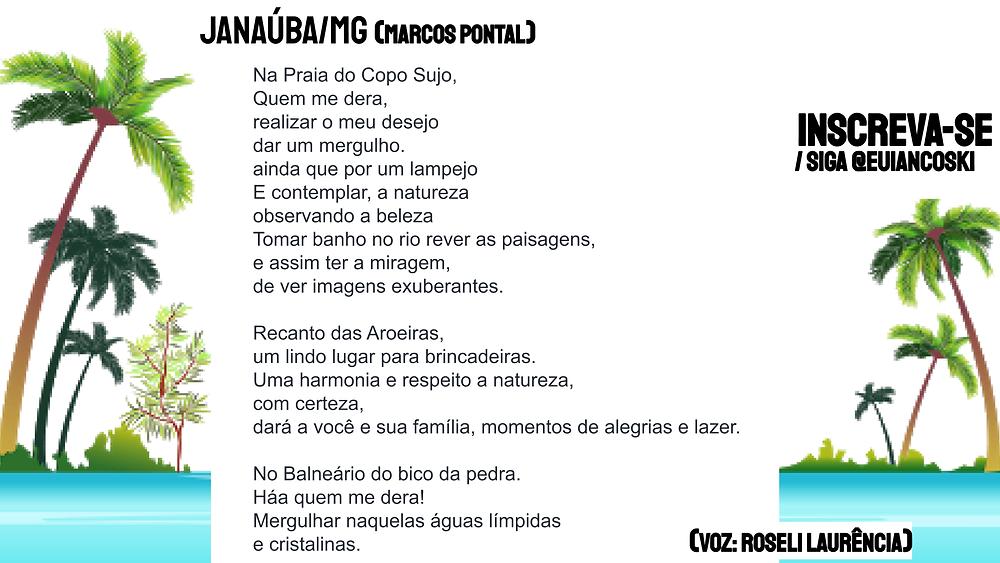 Poesia brasileira Marcos Pontal