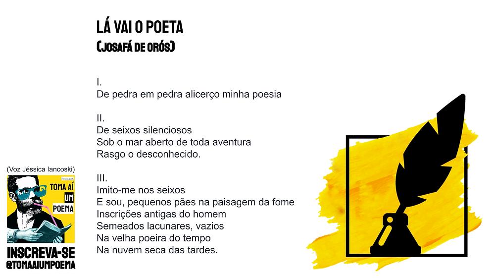 Poema de Josafá de Orós La vai o poeta