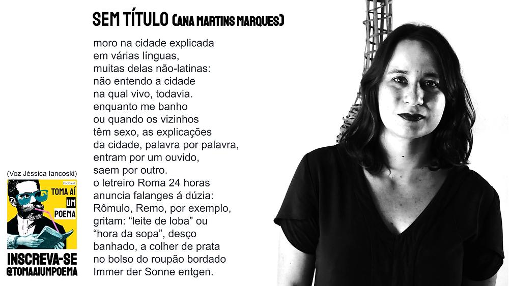 Poema de Ana Martins Marques