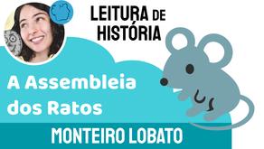 A Assembleia dos Ratos - Monteiro Lobato   Fabula Infantil