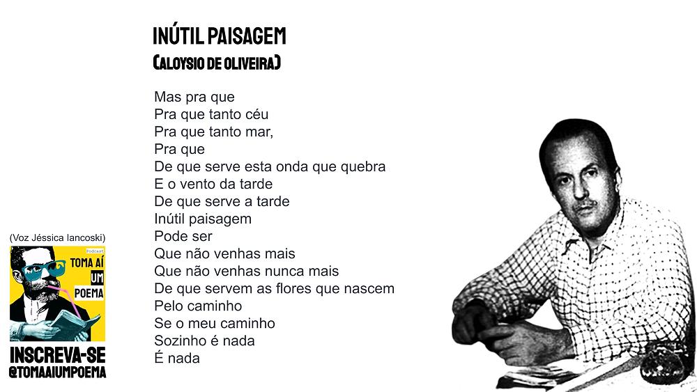 Inútil Paisagem LEtra Aloysio de Oliveira