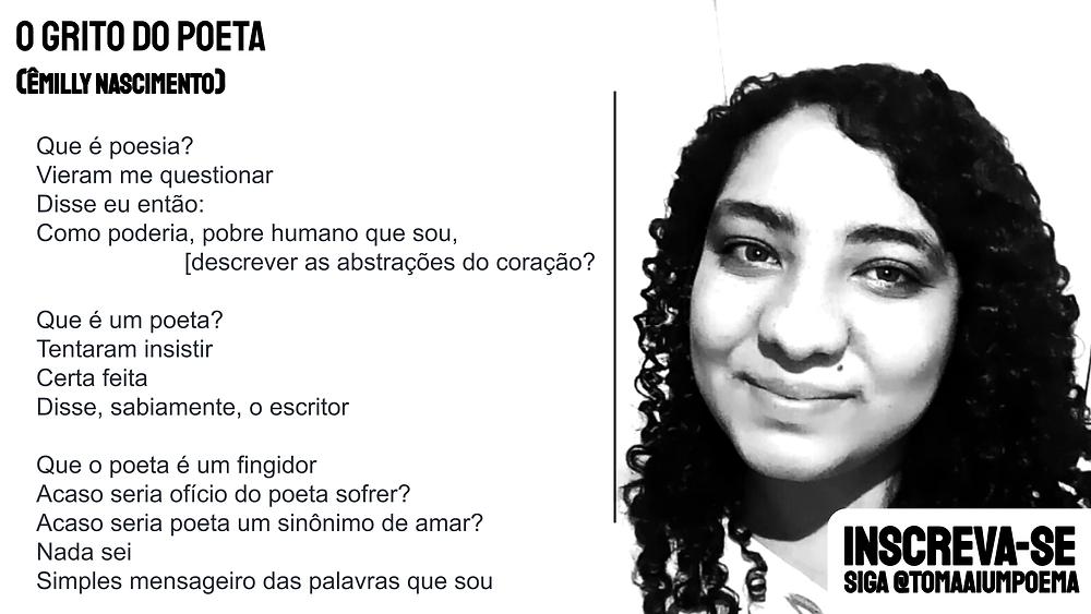 nova poesia brasileira o grito do poeta
