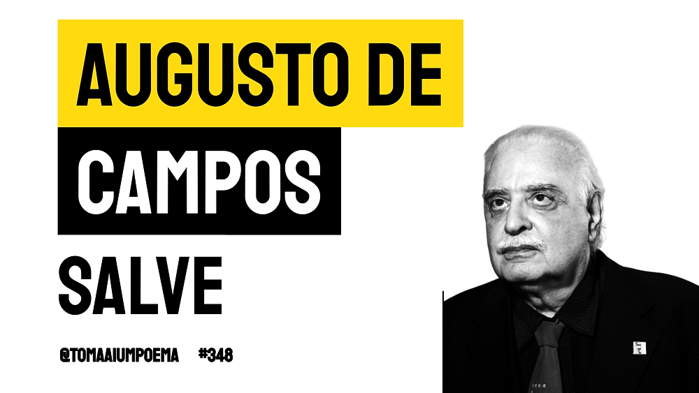 augusto de campos poesia brasileira