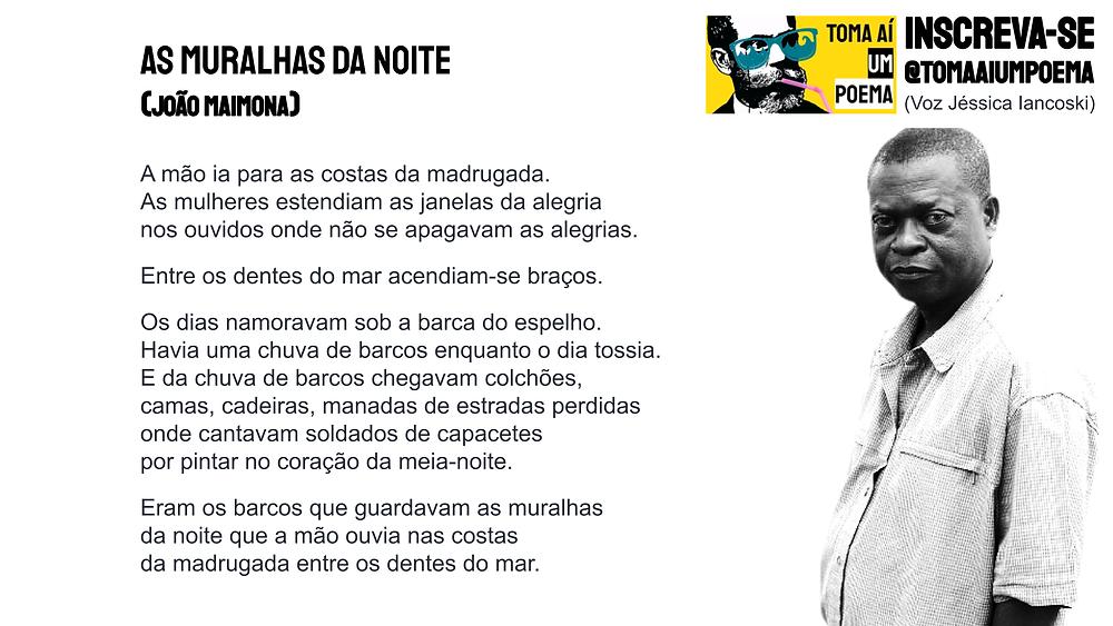 As muralhas da noite joao maimona poema