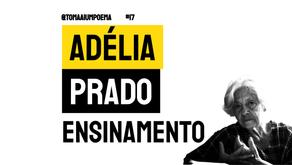 Adélia Prado - Ensinamento | Poesia Brasileira