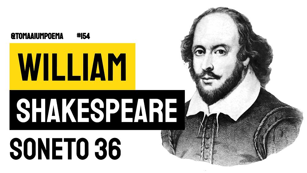 Soneto 36 shakespeare poesia