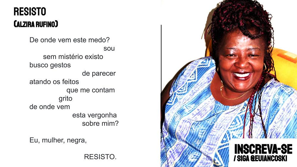 Alzira Rufino poesias