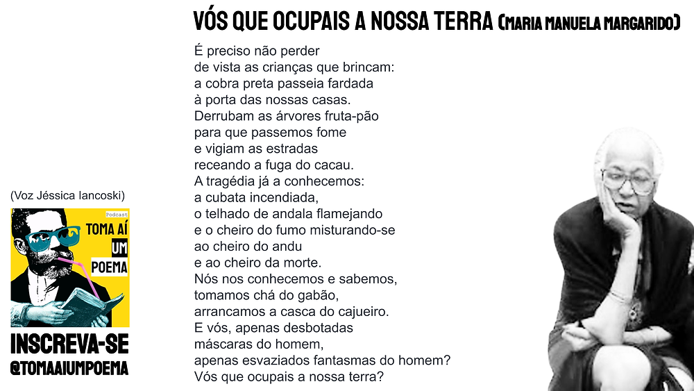maria manuela margarido poesia sao-tomense