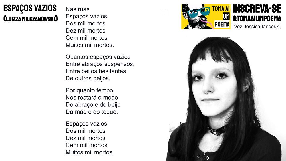 poema de luizza milczanowski espaços vazios