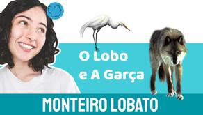 O Lobo e A Garça - Monteiro Lobato | Fábula Infantil