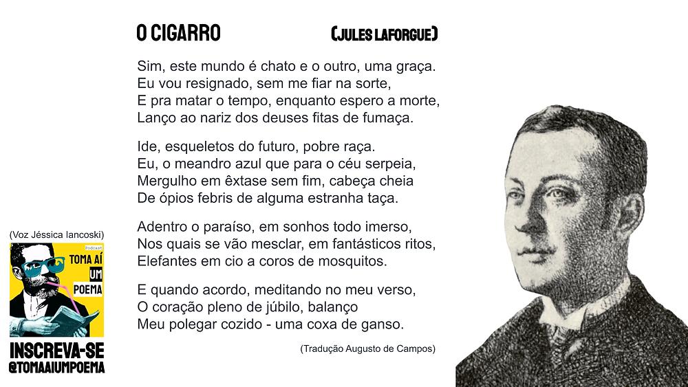 Poema de Jules Laforgue O Cigarro