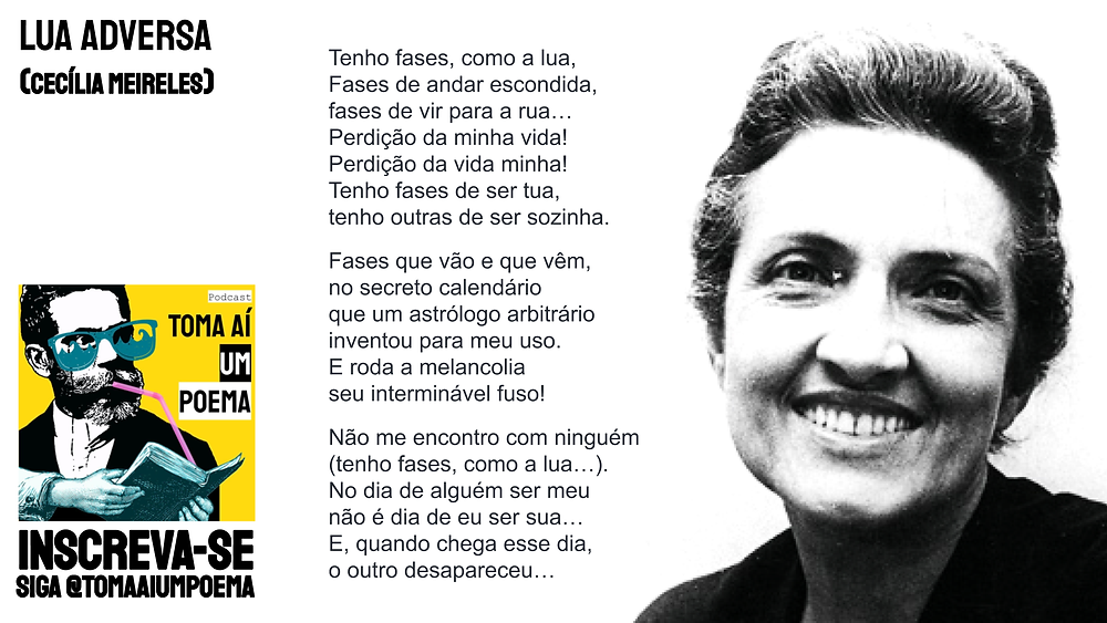 Cecilia Meireles Lua Adversa poesia