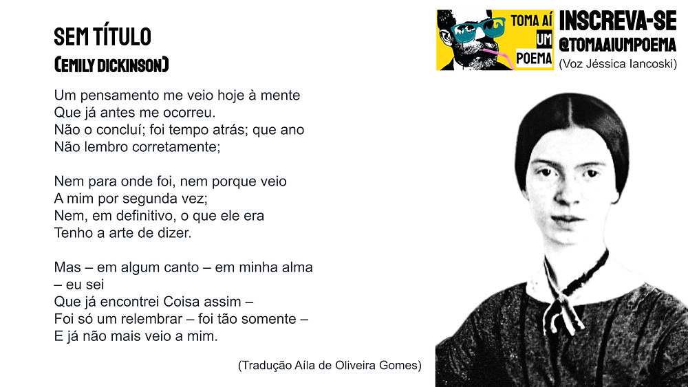 poema de emily dickinson
