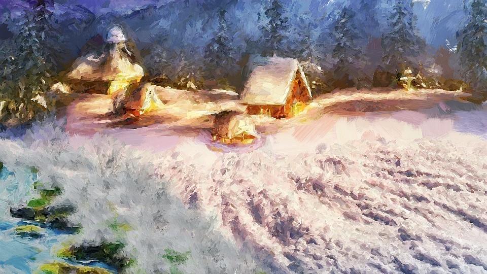 aldeia antiga neve civilização