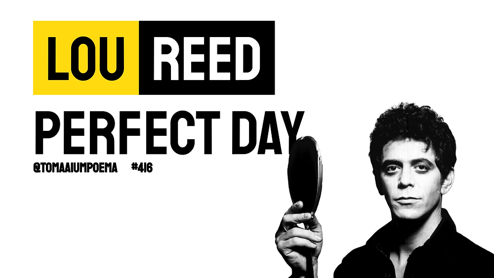 lou reed musica perfect day
