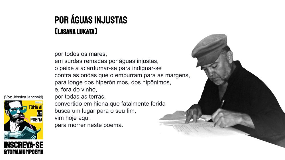 Lasana Lukata Poema Por Águas Injustas