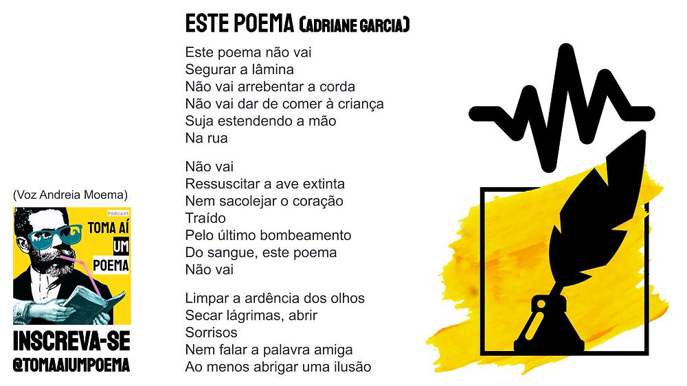 este poema adriane garcia poesia