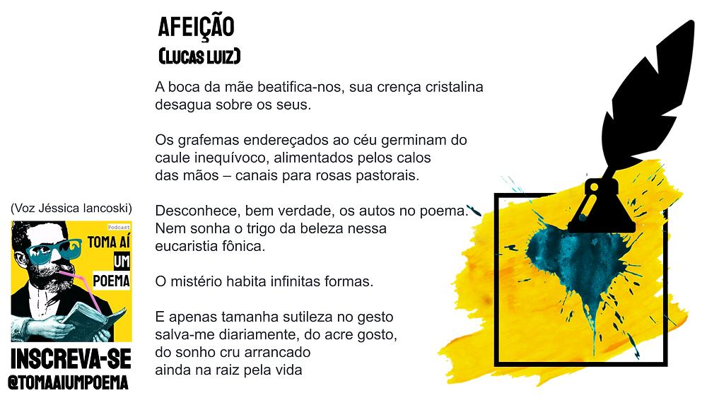 lucas luiz poema afeição nova poesia brasileira