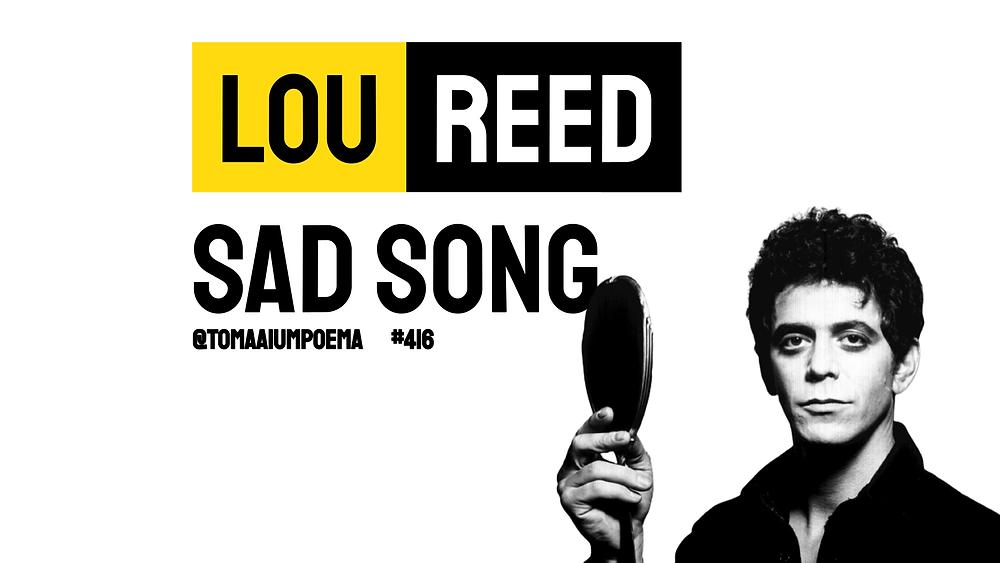 sad song lou reed
