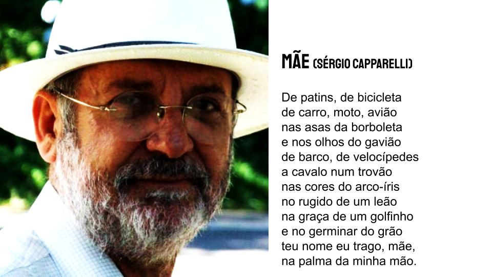 Mãe Sérgio Capparelli poesia infantil