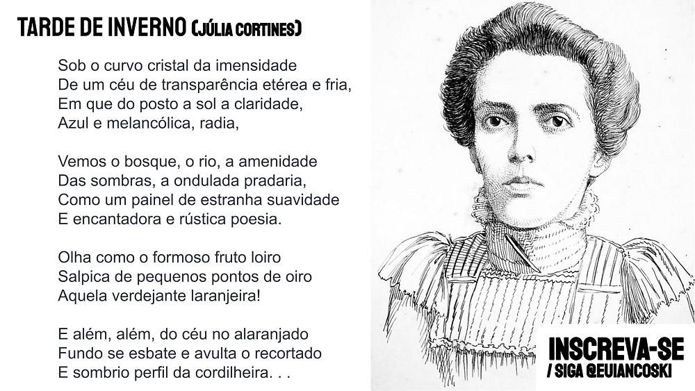 poesia brasileira julia cortines