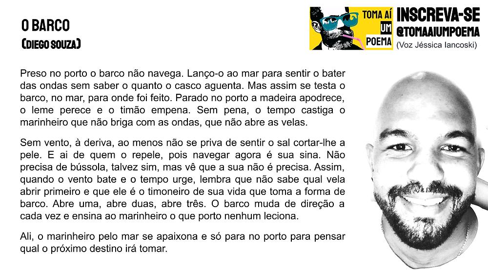 Poema de Diego Spuza O Barco