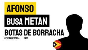 Afonso Busa Metan - Botas de Borracha | Poesia Timor-Leste