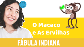 O  Macaco e As Ervilhas- Jéssica Iancoski | Fábula Indiana