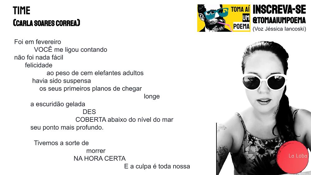 Poema de Carla Soares Correa revista la loba