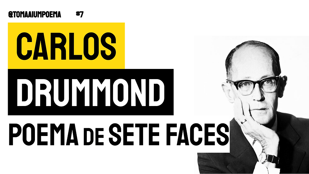 carlos drummond de andrade poema de sete faces