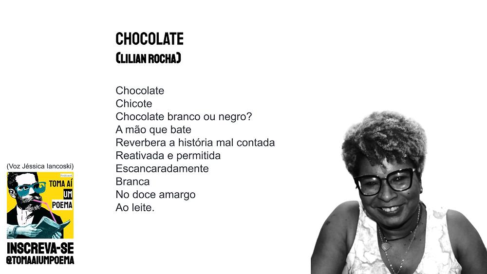 lilian rocha chocolate poesia negra