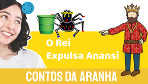 O Rei Expulsa Anansi - Jéssica Iancoski | Contos da Aranha