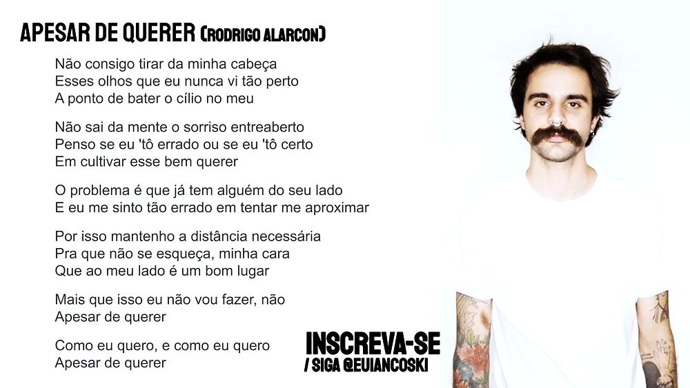Rodrigo Alarcon Apesar de Querer