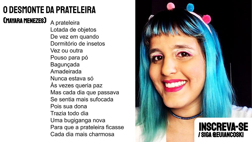 poesia brasileira atual