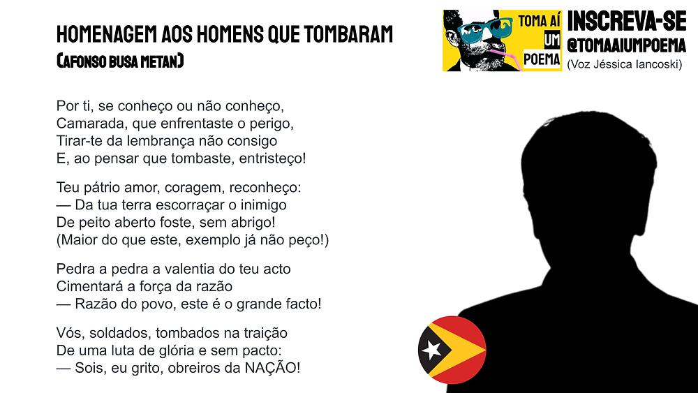 Poema de Afonso Busa Metan