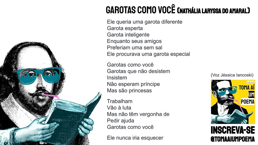 garotas como você poesia brasileira