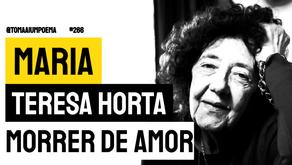 Maria Teresa Horta - Poema Morrer de Amor | Poesia Portuguesa