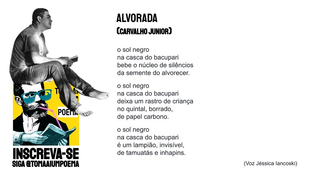 alvorada poema de carvalho junior