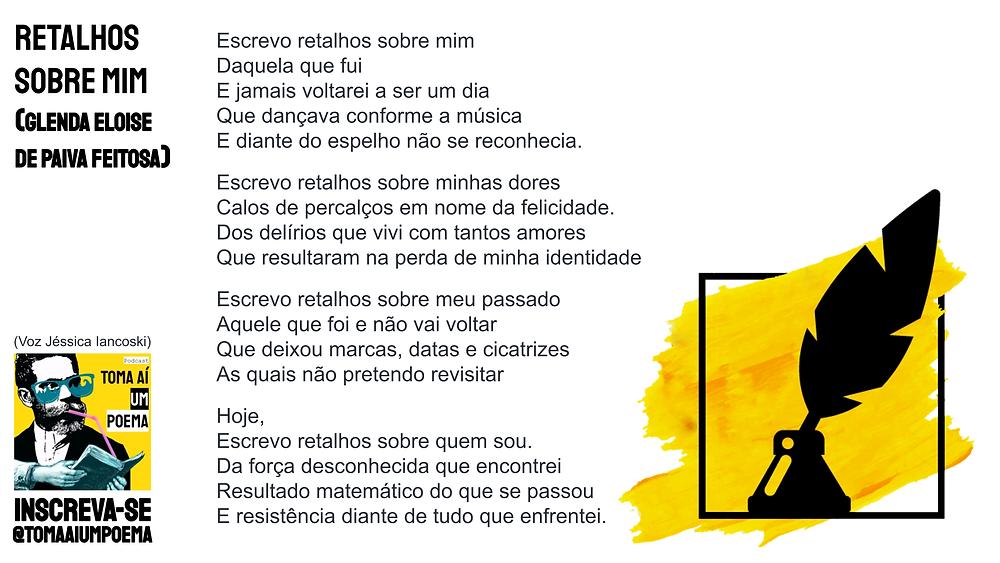 poema de glenda eloise de paiva feitosa